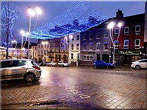 H4572 : Festive lights, Omagh by Kenneth  Allen