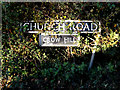 TM2893 : Church Road sign by Adrian Cable