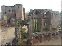 SP2772 : Kenilworth: view across the castle by Chris Downer