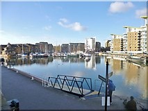 TQ3680 : Limehouse Basin by Mike Faherty