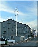 NJ9505 : Wind Turbine by Mary and Angus Hogg