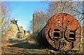 SK4964 : Pleasley Colliery by Chris Allen