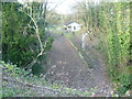 TR1852 : The former Bishopsbourne station seen from Crows Camp Road by Marathon