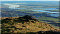 NS8397 : From Dumyat looking towards Grangemouth by Doug Lee