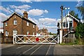 TF1443 : Railway Station, Heckington by Dave Hitchborne