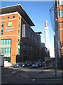 SP0687 : Lionel Street, Holiday Inn and the BT Tower by Robin Stott