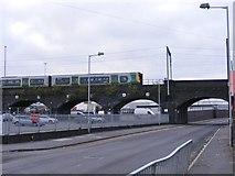 SO9298 : Lower Walsall Street Train by Gordon Griffiths