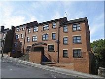 SK3488 : St Bartholomew's Church Apartments, Burgoyne Road, Sheffield - 1 by Terry Robinson