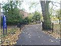 TQ3582 : Bethnal Green Gardens by Marathon