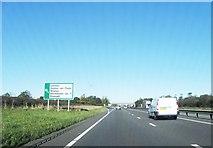 SK7964 : A1 northbound by Alex McGregor