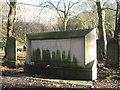 SP0588 : Key Hill Cemetery, Hockley: war memorial, lower area by Robin Stott