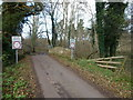 TF7614 : Weak bridge over The River Nar by Richard Humphrey