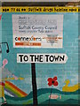 TM3877 : To the Town Mural by Adrian Cable
