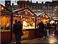 SJ8398 : Christmas Market, Exchange Square by David Dixon