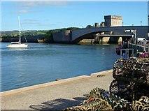 SH7877 : Conwy Bridge by nick macneill