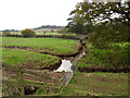 SX9685 : Land drains near an outfall by Stephen Craven