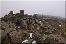 NM3995 : Summit of Askival by Craig Wallace