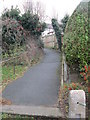 SE1646 : Footpath - West View Avenue by Betty Longbottom
