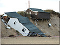 TG5017 : Storm surge damage, Hemsby by Evelyn Simak