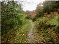 NY4222 : Footpath below Priest's Crag by Graham Robson