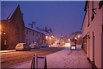 SY9287 : Wareham - in the snow by Peter Elsdon