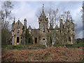 NN7158 : Ruins of Dunalastair House by Trevor Littlewood