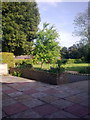 TM3876 : Garden at Highfield Residential Home by Geographer