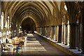 SU1429 : Salisbury Cathedral Cloisters by Stephen McKay