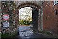 SU1429 : Harnham Gate, Salisbury by Stephen McKay