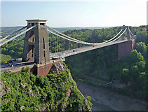 ST5673 : Clifton Suspension Bridge, Bristol (1) by Stephen Richards