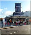 ST6171 : Entrance to Sainsbury's Castle Court, Bristol by Jaggery
