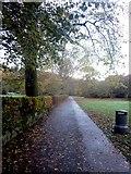 NY3704 : Footpath through Rothay Park, Ambleside by Graham Robson