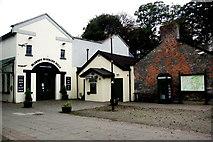 R4560 : Bunratty - Blarney Woollen Mills, Phone Booth & Village Directory by Joseph Mischyshyn