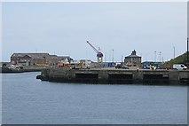 NZ4057 : Docks, Sunderland by Richard Webb
