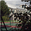 SP0675 : A desk in the country – with tennis courts, Wythall Green Business Park by Robin Stott