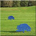 SP0675 : Blue steel oaks, King's Norton Golf Course by Robin Stott