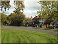SP0675 : West end of Silver Street, Wythall by Robin Stott