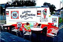 R4560 : Bunratty - Durty Nelly's HB Ice Cream Truck Kiosk by Joseph Mischyshyn