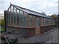 SP0583 : New orchid house under construction by Phil Champion