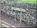 TQ7376 : Vintage street nameplate, Church Street, Cliffe by Chris Whippet