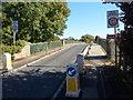 SO8833 : Weak bridge over the River Severn near Tewksbury by Jaggery