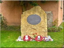 ST5545 : Harry Patch Memorial by David Dixon