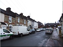 TQ7369 : Kitchener Road, Strood by Chris Whippet