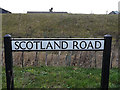 TL3660 : Scotland Road sign by Adrian Cable