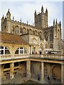 ST7564 : Bath Abbey viewed from The Roman Baths by David Dixon