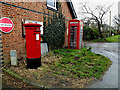 TL3760 : Telephone Box & Scotland Road Postbox by Adrian Cable