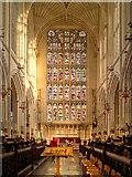 ST7564 : Bath Abbey, East Window by David Dixon