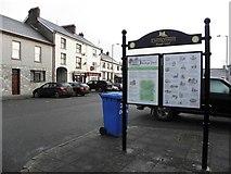 H6357 : Tourist information board, Ballygawley by Kenneth  Allen
