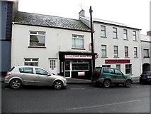 H6357 : Michal Polish Barber Shop, Ballygawley by Kenneth  Allen