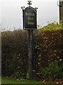 TL3660 : Scotland Farm House sign by Geographer